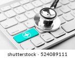 medicine doctor   nurse working ... | Shutterstock . vector #524089111