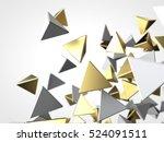 abstract background macro... | Shutterstock . vector #524091511