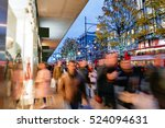 shopping on oxford street... | Shutterstock . vector #524094631