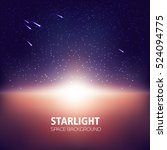 starlight  space background ...   Shutterstock .eps vector #524094775