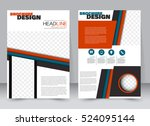 abstract flyer design... | Shutterstock .eps vector #524095144