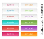 set of colored web buttons. web ... | Shutterstock .eps vector #524101081
