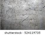 worn scratched metal texture | Shutterstock . vector #524119735