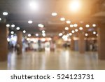 blured store and with bokeh... | Shutterstock . vector #524123731