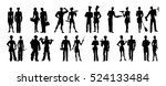 different professions set....   Shutterstock .eps vector #524133484