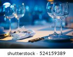 Luxury Table Setting Focus On...
