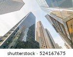 new york skyscrapers vew from... | Shutterstock . vector #524167675