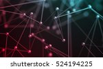 abstract 3d rendering of... | Shutterstock . vector #524194225