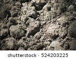 Small photo of Close-up of alluvial soil as a texture/background.