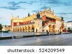 krakow market square  poland | Shutterstock . vector #524209549