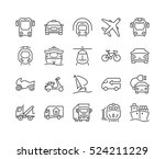 set of icons isolated for... | Shutterstock .eps vector #524211229