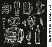 sketch style illustration of... | Shutterstock .eps vector #524214805