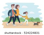 vector cartoon illustration of... | Shutterstock .eps vector #524224831