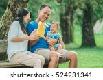 portrait of happy family... | Shutterstock . vector #524231341