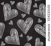 abstract vector seamless... | Shutterstock .eps vector #524233105