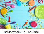 Bright Birthday Background Wit...