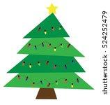 christmas tree | Shutterstock . vector #524252479