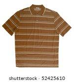 brown striped shirt | Shutterstock . vector #52425610