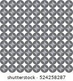 seamless vintage pattern vector | Shutterstock .eps vector #524258287