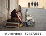 prague czech republic  ... | Shutterstock . vector #524272891