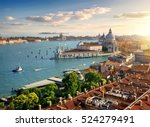 panoramic aerial view of venice ... | Shutterstock . vector #524279491