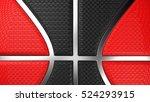 basketball. 3d illustration. 3d ... | Shutterstock . vector #524293915