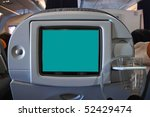 seat monitor with blank screen... | Shutterstock . vector #52429474