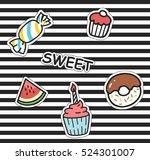 Cute Cartoon Patch Background