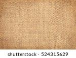 closeup of a burlap texture   Shutterstock . vector #524315629