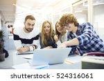 international students...   Shutterstock . vector #524316061