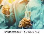 hand's businessman holding a... | Shutterstock . vector #524339719