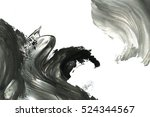 abstract ink background. marble ... | Shutterstock . vector #524344567