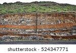 earth layers in tenerife | Shutterstock . vector #524347771