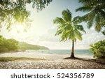 anse lazio beach  praslin... | Shutterstock . vector #524356789