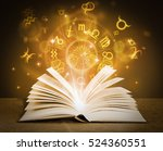 magical book | Shutterstock . vector #524360551