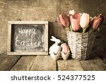 Easter Decoration Toned Photo