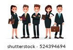 business team. a group of... | Shutterstock .eps vector #524394694