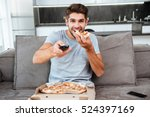 photo of young happy man... | Shutterstock . vector #524397169