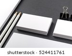 photo of business cards.... | Shutterstock . vector #524411761