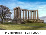 national monument of scotland.... | Shutterstock . vector #524418079