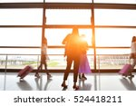 the airport passengers | Shutterstock . vector #524418211