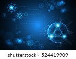 vector abstract background... | Shutterstock .eps vector #524419909