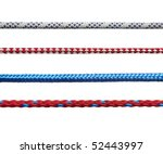 Collection Of Various Ropes On...