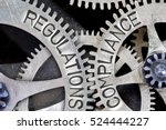 macro photo of tooth wheel... | Shutterstock . vector #524444227