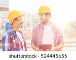 business  building  teamwork ... | Shutterstock . vector #524445655
