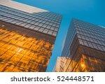 skyscraper buildings and sky... | Shutterstock . vector #524448571