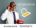 customer service contact us... | Shutterstock . vector #524450671