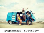summer holidays  road trip ... | Shutterstock . vector #524453194