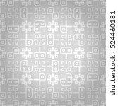fine geometrical seamless... | Shutterstock .eps vector #524460181