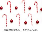 Christmas Candy Canes With Toy...